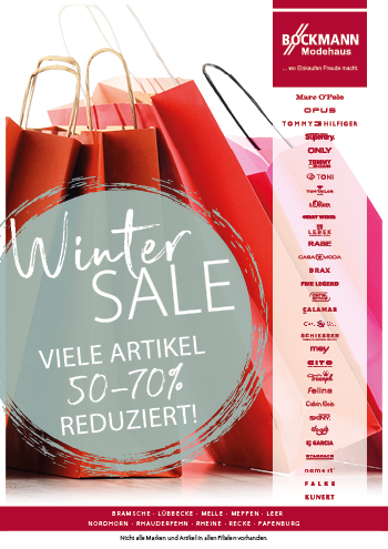 Prospekt: Winter Sale